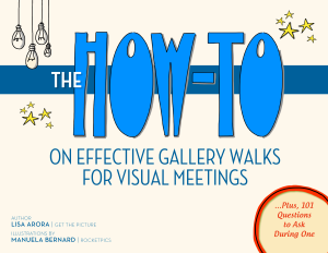 Cover of the book on gallery walks